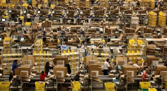 Last Black Friday was the busiest day on Amazon