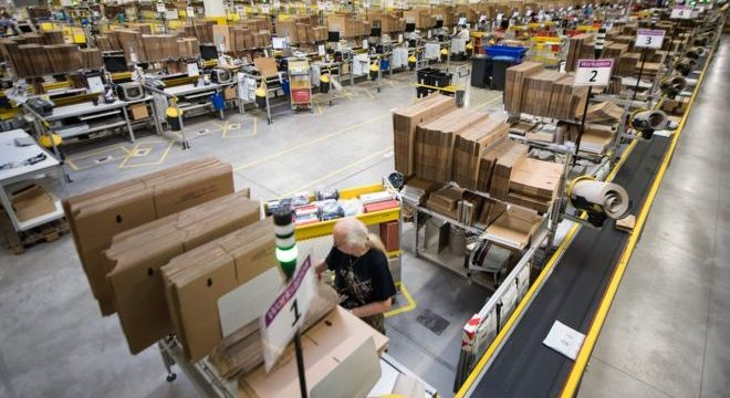 Amazon`s  shipping expansion