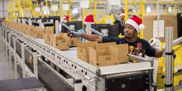 Christmas Sales Slowdown Hits Amazon Hard